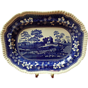 "Spode Blue Tower 12.5"" Platter"
