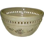 Weller Pottery Planter Basket