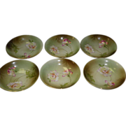 Set Of 6 Berry / Fruit Bowls By R S Germany