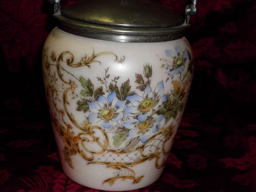 Floral Biscuit Jar