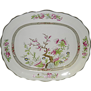 Large Indian Tree Burgess & Leigh England Serving Platter