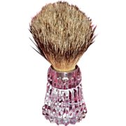 Waterford Crystal Shaving Brush