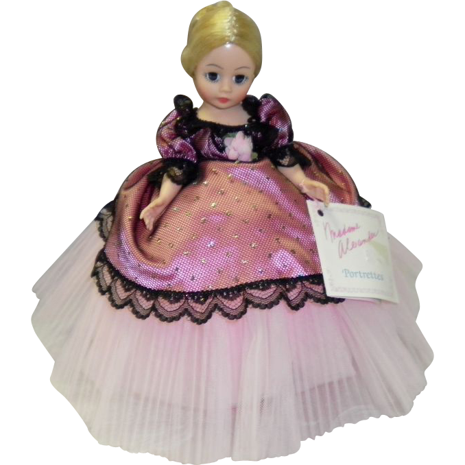 "1987 Madame Alexander 10"" Doll Rosette #1115 Portrettes Doll"