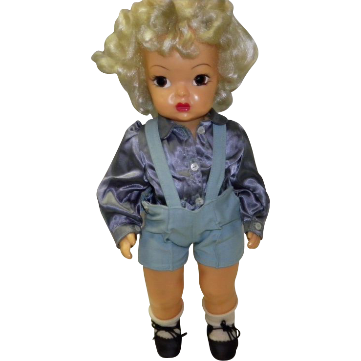 Vintage 1950's Terri Lee Doll With Original Clothes