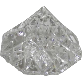 Waterford Crystal Diamond Shaped Paperweight