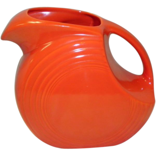 """Early Red Fiesta 7 1/2"""" Pitcher"""