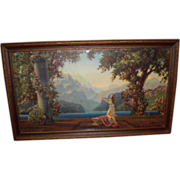 "R. Atkinson Framed Print ""Dawn"""