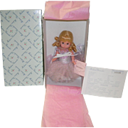 "Madame Alexander Silver Sparkle Ballerina 8"" Doll Never  Removed From Box #35070"