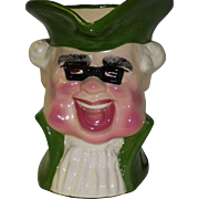 Royal Doulton Large Toby Jug Uplight Lamp