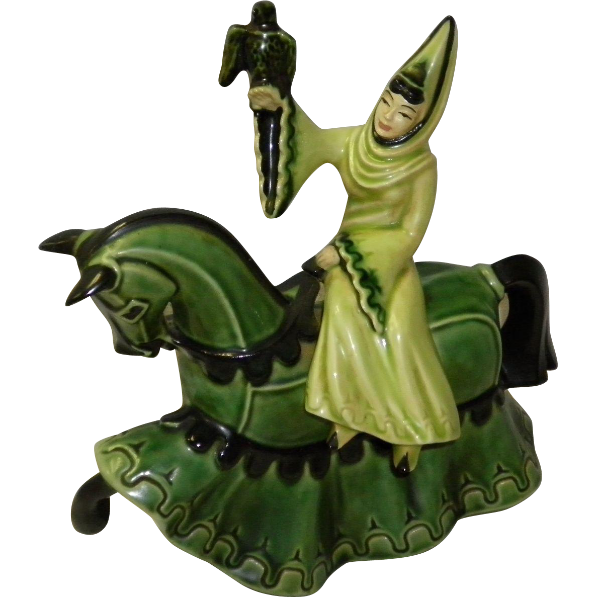 "Ceramic Art Studio Figurine ""Lady Rowena"""