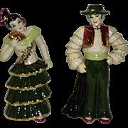 "Ceramic Art Studio Figurines ""The Rhumba Dancers"""