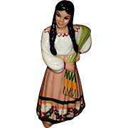 "Ceramic Art Studio Figurine ""Mexican Girl"""