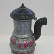 German Antique miniature dollhouse heater or stove