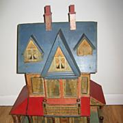 Antique Bliss Elegant large doll house