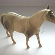 Antique celluloid elephants sheep rams horse