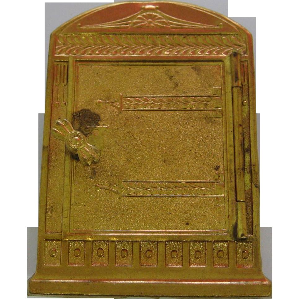Antique Medicine Cabinet Antique German Miniature Dollhouse Ormolu Medicine Cabinet From