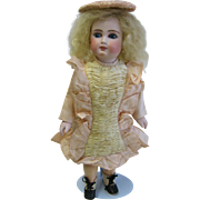 Antique Belton type French face bisque doll