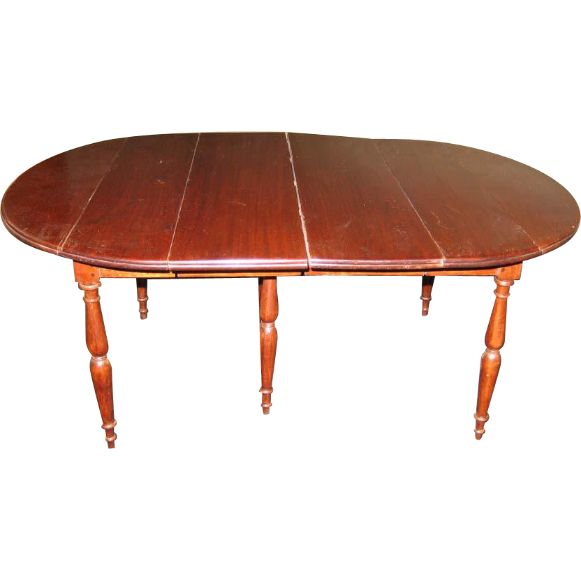 Antique doll wooden miniature drop leaf dining table from for Antique drop leaf dining table