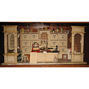 Antique German Gottschalk miniature shop