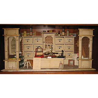 Antique German Gottschalk miniature shop