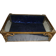 Original VOLUPTE gilt glass display case