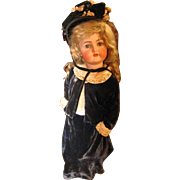 Simon & Halbig K*R antique bisque doll 26 1/2""