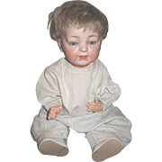 Antique Bisque Kestner 211 character baby 16""