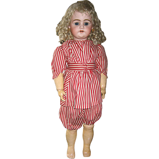 Antique Simon & Halbig 1079 bisque doll 24""