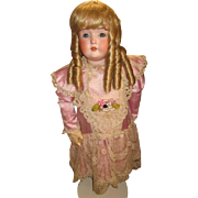Antique Kestner 196  bisque doll 26""