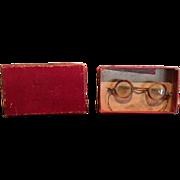 Antique Doll Dollie Specs glasses