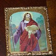 Antique miniature various religious picture of Jesus