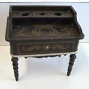 Biedermeier Walterhausen Boule antique vanity or secretary