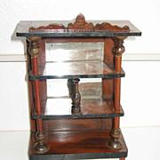 Antique Kestner German doll house miniature Display vitrine - Red Tag Sale Item