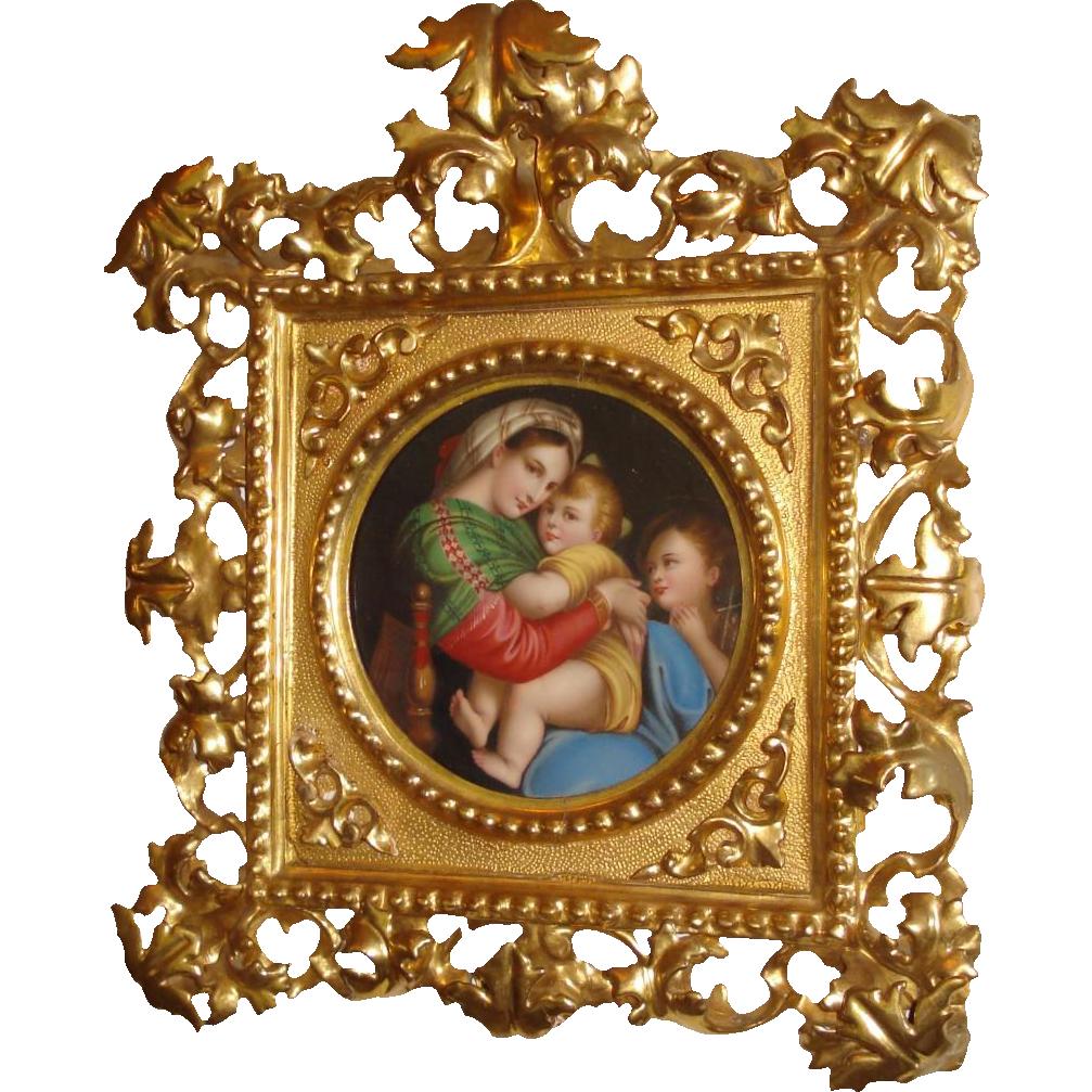 Madonna Della Sedia by Raphael copy
