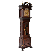 Walter H. Durfee Pattern #18 Mahogany Grandfather Clock