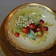 Handpainted Pickard Bowl Challinor Mixed Fruit