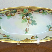 Pickard Handpainted Celery Dish by Walters