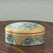 Handpainted Trinket Box