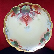 Handpainted Limoges Charger Pickard Artist Blaha