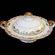 Paul Muller Selb Porcelain Covered Vegetable Bowl