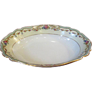 Paul Muller Selb Porcelain Oval Vegetable Bowl