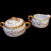 Heinrich & Co Selb Bavaria Creamer and Sugar Bowl