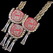 Hobe Egyptian Revival Pendant Necklace