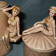 Bathing Beautiful Cup & Jar Enesco 1979