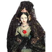 Petite Spanish Boudoir Doll