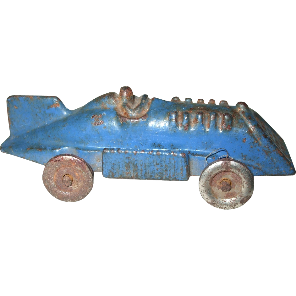 Hubley Cast Iron Race Car