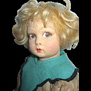 Adorable Lenci Doll