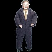 Dollhouse Sized Man Doll