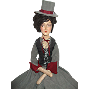 Wonderful Boudoir Doll In Fabulous Outfit