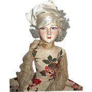 Fabulous & SO Art Deco French Tagged Gerb's Boudoir Doll